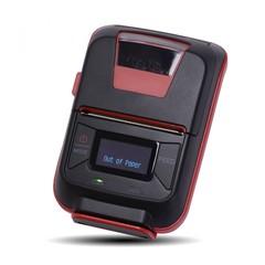 Купить Чековый мобильный принтер Mertech MPRINT E200 USB, Bluetooth, Black, 203 dpi, термопечать, лента 48 мм, Честный Знак, ЕГАИС, QR-код, Bartender