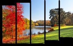 """Модульная картина """"Красивая осень"""""""
