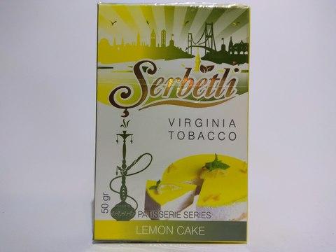 Табак для кальяна SERBETLI Lemon Cake 50gr