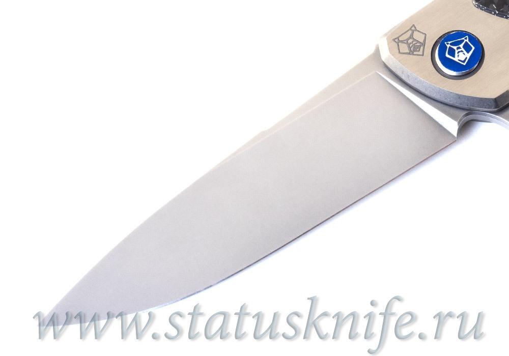 Нож Широгоров Флиппер 95 NL Сатин M390 CF - фотография