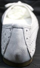 Балетки на выпускной Vasari Gloria 19Y38860-37 White.