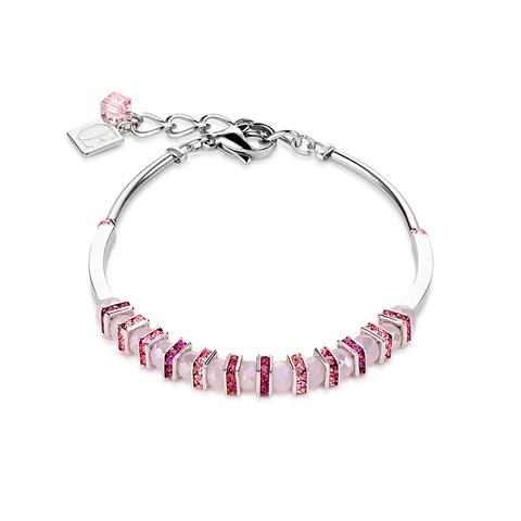 Браслет Coeur de Lion 4858/30-1900 цвет розовый