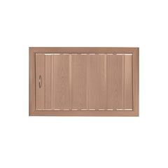 Антресольная дверь дуб старый