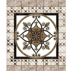 Ламинат SPC Novita 3D Мраморная мозаика 8 панелей