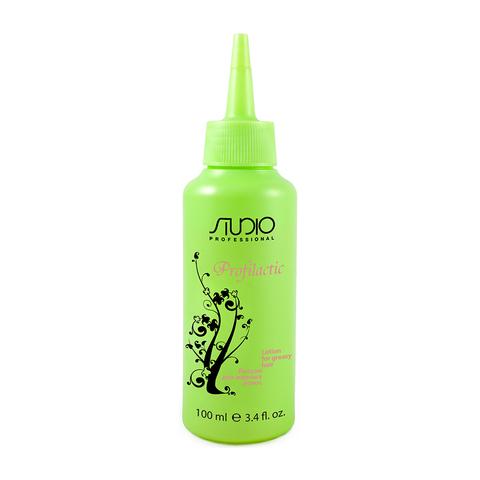 Лосьон для жирных волос Profilactic Kapous Studio 100 мл