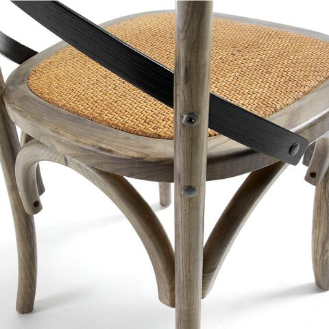 Стул Silea деревянный коричневый
