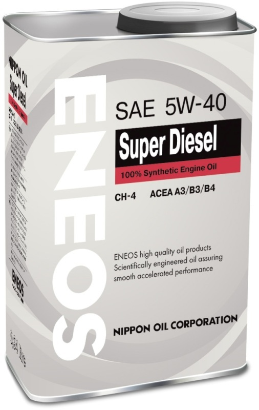 Eneos Super Diesel CH-4 5W40  – Синтетическое моторное масло