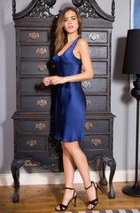 Сорочка Mia-Mia натуральный шёлк синий