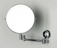 Косметическое зеркало WasserKRAFT K-1000 двухстороннее, с 3-х кратным увеличением
