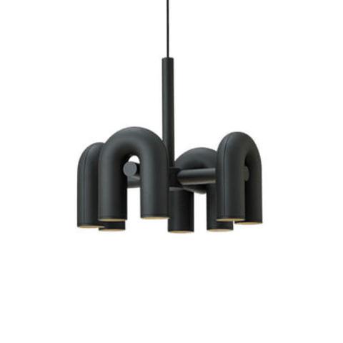 Подвесной светильник Cirkus by AGO Lighting (4 плафона/черный)