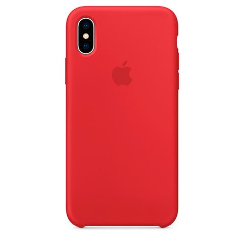 iPhone X Silicone Case (PRODUCT)RED