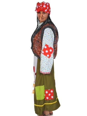 Костюм женский карнавальный Баба Яга лесная красавица