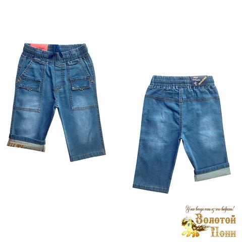 Бриджи джинсовые мальчику (5-10) 210424-B-508105