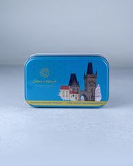 Миндаль в темном, молочном и белом шоколады, 150 гр, Чехия