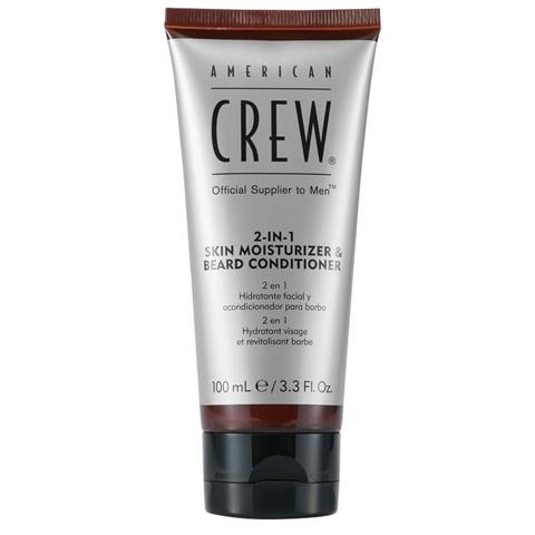 American Crew Beard: 2 в 1 Кондиционер для бороды и увлажняющее средство для кожи ( 2-in-1 Skin Moisturizer &Beard Conditioner), 100мл