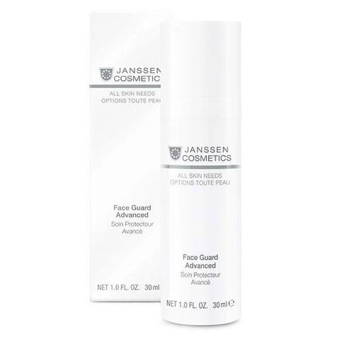 Janssen All Skin Needs: Легкая солнцезащитная основа SPF-30 с UVA-, UVB- и IR-защитой (Face Guard Advanced)