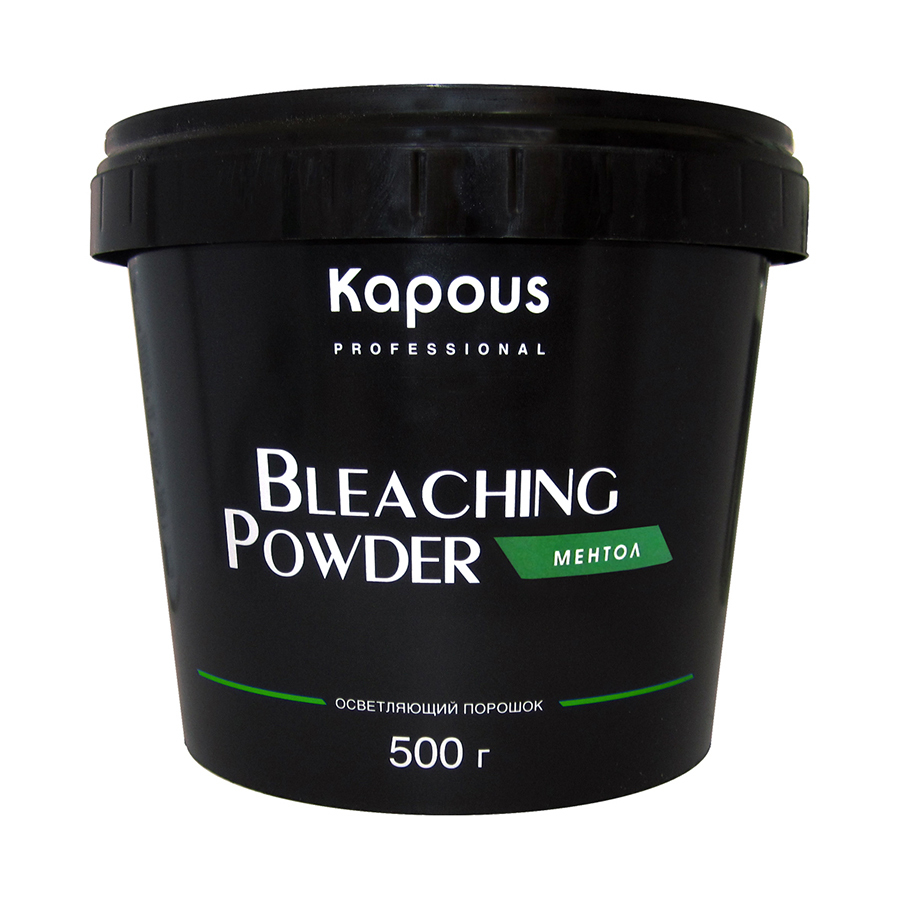 Обесцвечивающая пудра с ментолом Kapous 500 гр
