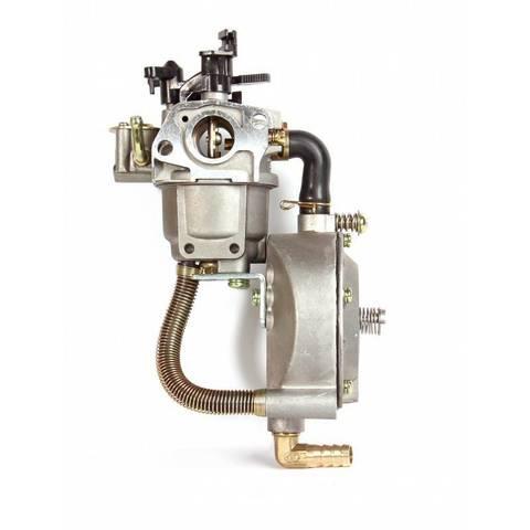 Карбюратор газ - бензин для бензогенераторов 1.5-3.5 кВт