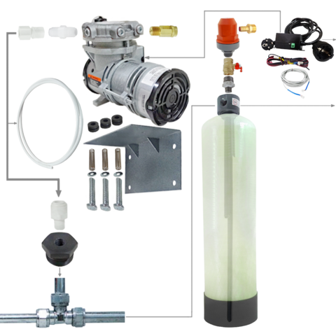 Комплект системы напорной аэрации воды 1354 / AP2 / CL