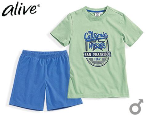 Комплект для мальчика Alive футболка + шорты