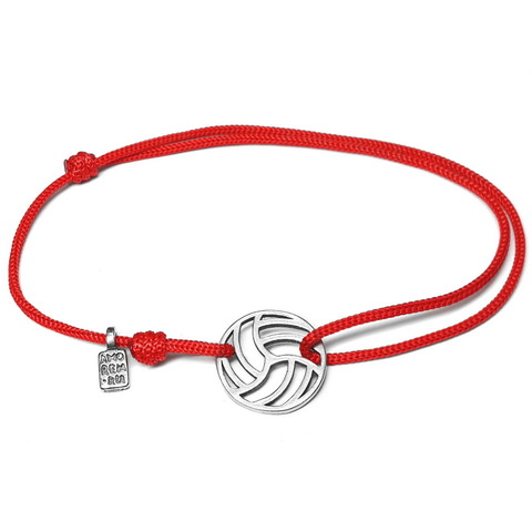 Volleyball Bracelet, sterling silver