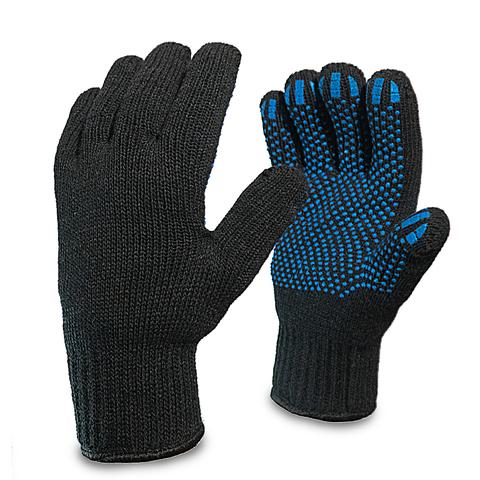 Перчатки п/шерсть двойные  с ПВХ ( ПЕР037)