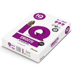 Бумага для офисной техники IQ Smooth (А4, марка A+, 90 г/кв.м, 500 листов)