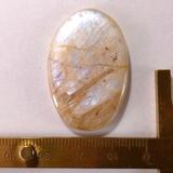 Кабошон лунного камня 37x24x5 мм