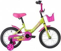 Детский велосипед Novatrack Twist 14