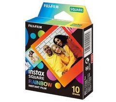 Fotoaparat lenti \ Картридж Fujifilm Instax SQUARE Rainbow, 10 lent