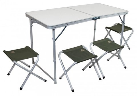 Набор мебели TREK PLANET EVENT SET 120 (стол+4 стула)