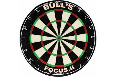 Мишень для дартса Bull's Focus 2, сизаль, бесскобная, 0.8 мм