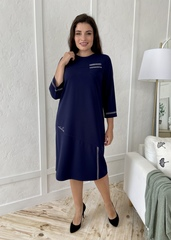 Феєрія. Стильна красива сукня для жінок. Синій