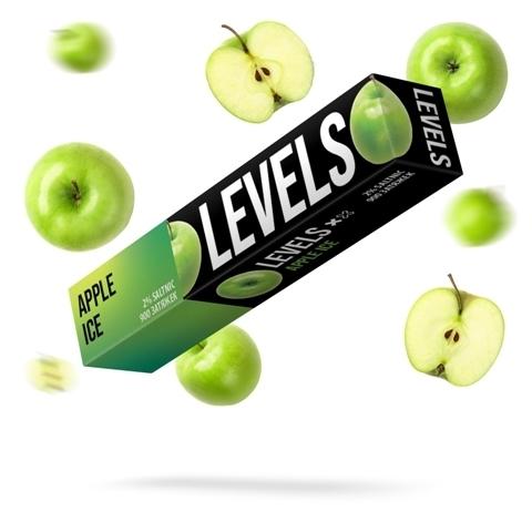 LEVELS (900 затяжек) Apple Ice - Яблоко с холодком