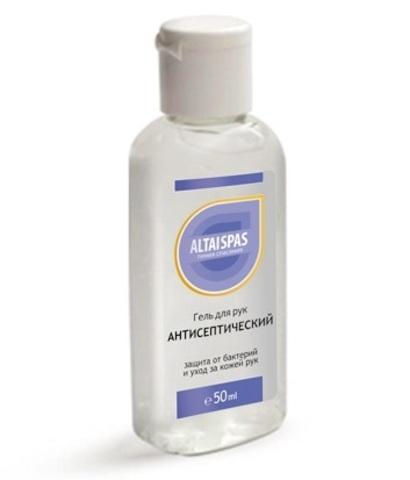 Гель для рук антисептический Алое-вера ALTAISPAS фото2