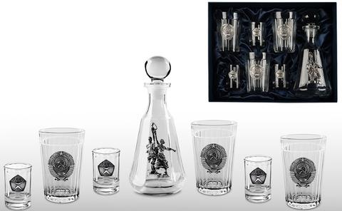 Подарочный набор для водки «Гранёный-2»