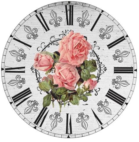 017-6806 Набор для творчества - декупаж с нуля Часы