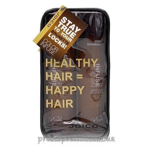 Joico Color Infuse Brown Gift Pack - Набір відтінковий, коричневий