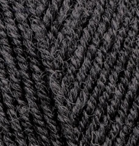 Пряжа Superlana midi Alize 196 Темно-серый меланж - продажа в интернет-магазине недорого klubokshop.ru
