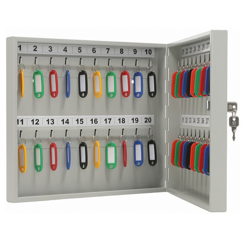 Шкаф для ключей AIKO KEY-40 на 40 ключей, с брелоками