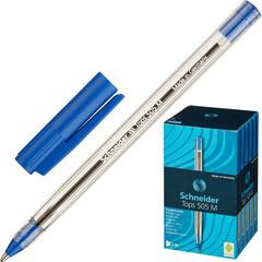 Ручка шариковая одноразовая Schneider Tops 505 синяя (толщина линии 0.5 мм)