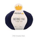 Пряжа Schachenmayr Regia Merino Yak 07520 королевский синий