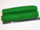 Пыльники вилки 360мм зелёные Kawasaki KDX