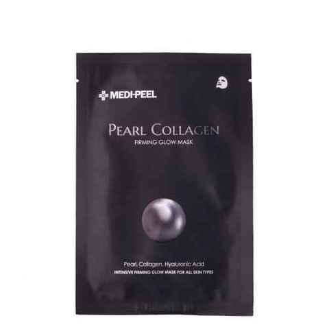 MEDI-PEEL Pearl Collagen Mask (25ml) Разглаживающая маска с жемчугом и коллагеном