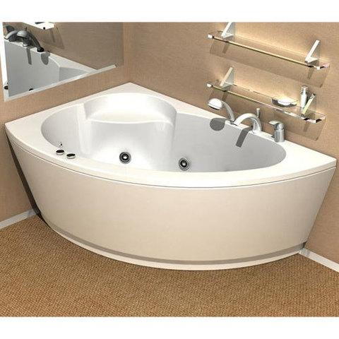 Ванна акриловая Aquatek Аякс 2 170х110см. на каркасе и сливом-переливом левая/правая