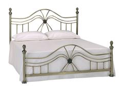 Кровать 9315 L 200x160 (MK-2203-AB) Античная медь