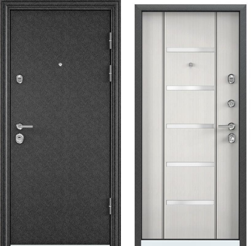 Входные двери для квартиры Torex Ultimatum черный шелк KB-27P шамбори светлый generated_image___копия.jpg