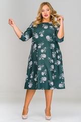 Платье с широкой юбкой 1512710