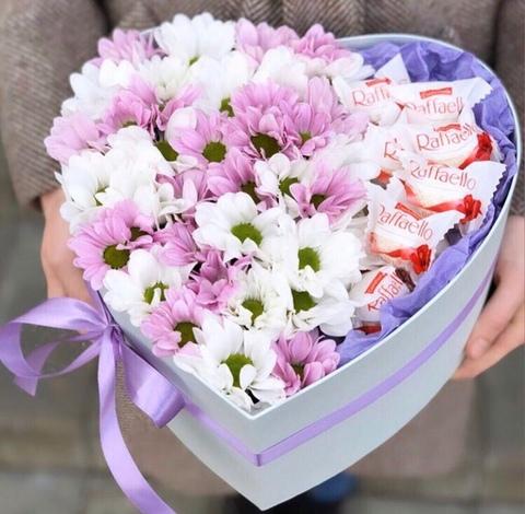 Цветы и Raffaello #153221
