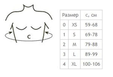 Корректор осанки Tonus Elast 0107 Comfort